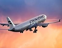 Finnair identity