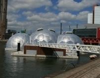 Huisjes Drijvend Paviljoen Rotterdam