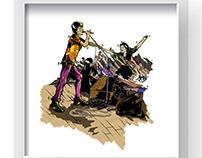 《乐队》Art Prints