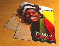 International Justice Mission (IJM) literature design