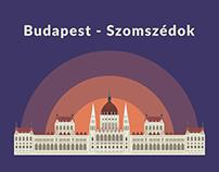 Budapest by Szomszedok music band