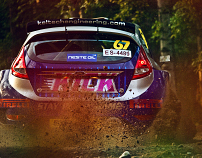 WRC Rally Finland 2010 // SS1 Laajavuori 1