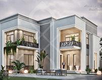 Simple new classic villa