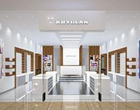 Kryolan Gulf Store Concept