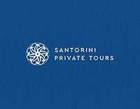 Santorini Private Tours: Brand Identity + Website