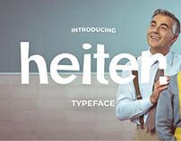 Heiter Typeface