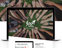Voluntrme Web design