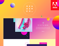 Rendered — Responsive Demo Website for Adobe