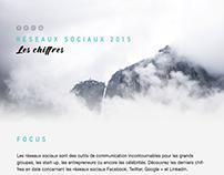 Réseaux sociaux 2015 - Les chiffres en infographie