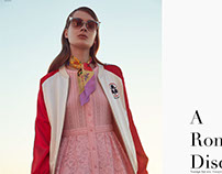 Salvation Mountain Fashion Editorial for DNAmag.mx