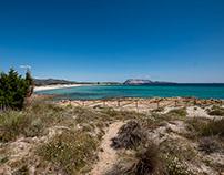 The Sea of north-eastern Sardinia