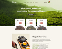 T.drop Homepage