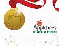 Applebee's te sube al podium | Campaña digital