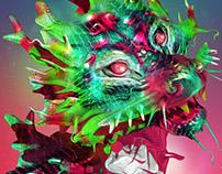 ZBrush Creature Designs (3D Modelling)