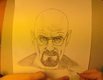 Breaking Bad - Speed Painting Walter White
