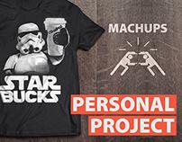 Mashups - Print design