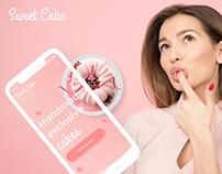 Sweet Cake - Landing Page