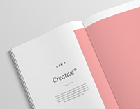 Graphic Design Portfolio — Minimal/Simple