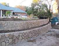 Building a Backyard Retaining Wall With The Clifrock Pa