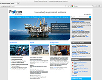Proeon Systems Promotional Literature & Web Design
