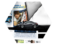 Peugeot RCZ - Homepage Takeover