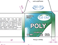 Package Design For Ophthalmic Lenses