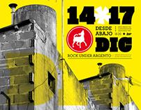 Identity & Branding - Festival Rock Under Diseño III