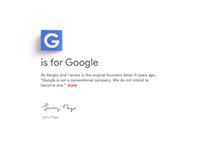 Design Detective Teaser - Google