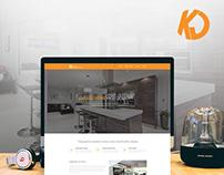 KJ Kvint - Website & webdesign