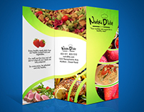 Nutri D'lite's Brochure & business card