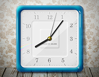 Clock from photo