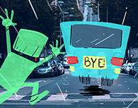 Mr. Green's Bad Day Illustrations