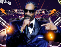 SnoopDogg Concert Poster