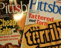 Layout Work: Pittsburgh magazine