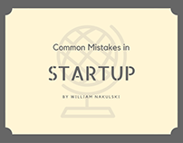 Common Mistakes in Startup