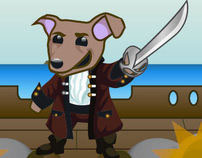Puppy Pirates - Social Network Game
