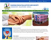Karuna Website Layout