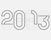2013. A typography experiment.