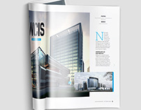 A4 Brochure Magazine Mock-Up
