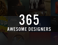 365 awesome designers