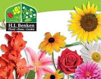 Benkens Florist Billboard