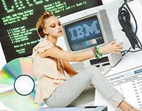Internet addiction collage