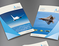Contest Winning Brochure Design for a TJ Aerospace