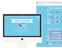 Tour De Dublin - Web Design