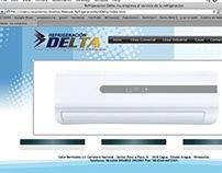 Website Refrigeracion Delta