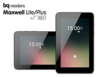 "bq Maxwell Lite/Plus 7"" tablet"