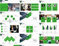 27+ Green business Plan PowerPoint template
