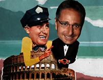 Bonolis presenta Un americano a Roma