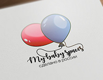 My Baby spaces logotype design