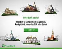 PrivatBank social network application
